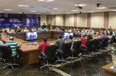Lideranças comunitárias de Cáceres participam de reunião com o Governador Pedro Taques