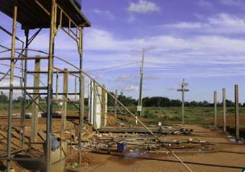 Empresa Primus sem receber do governo desmonta canteiros das obras da ZPE de Cáceres