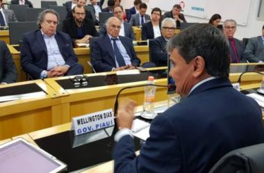 Governador Wellington Dias apresenta projeto do Porto a empresários do setor de infraestrutura