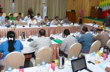 Coordination meeting of Special Economic Zones Central Committee held in Nay Pyi Taw – Myanmar