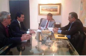 Governador trata com Paulo Cardoso sobre parcerias público privadas da ZPE e do Porto de Luis Correia