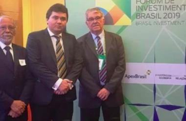 ZPE Parnaíba cumpre agenda no Fórum Investimentos 2019, realizado pelo BID e APEX em São Paulo