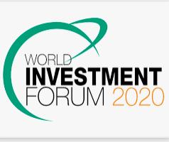 World Investment Forum 2020, Abu Dhabi, UAE, 06-10 December.