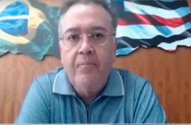 """""""Não tem cabimento continuar convivendo com o sistema tributário atual"""" diz senador Roberto Rocha."""