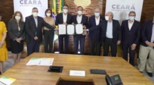 Governo do Ceará e Qair Brasil assinam acordo de US$ 6,9 bilhões para projetos de energias renováveis